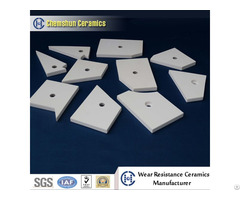 Impact Resistance Alumina Ceramic Pipe Tile As Wear Resistant Linings