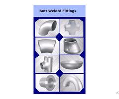 Butt Welded Fittings