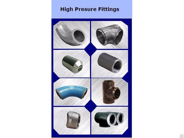 High Presure Fittings