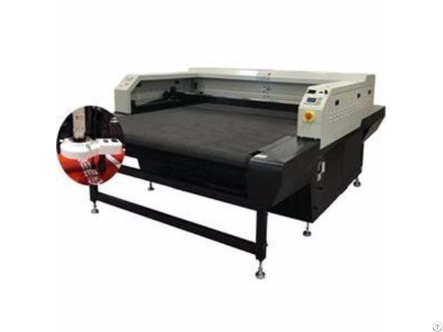 Digital Printed Vision Laser Cutting Machine
