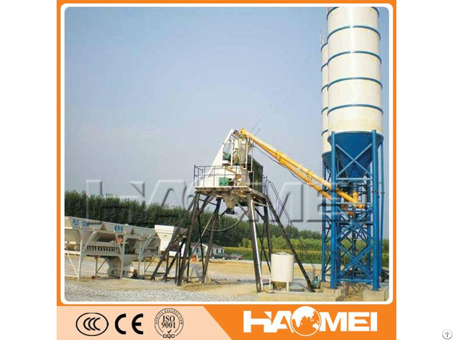Factory Directly Supply Hzs25m3h 25m3h Productivity Small Concrete Batching Plant