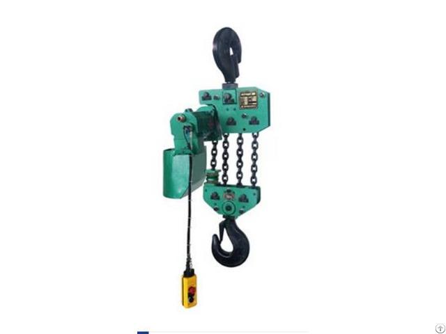 10t Pendant Controlled Air Chain Hoist