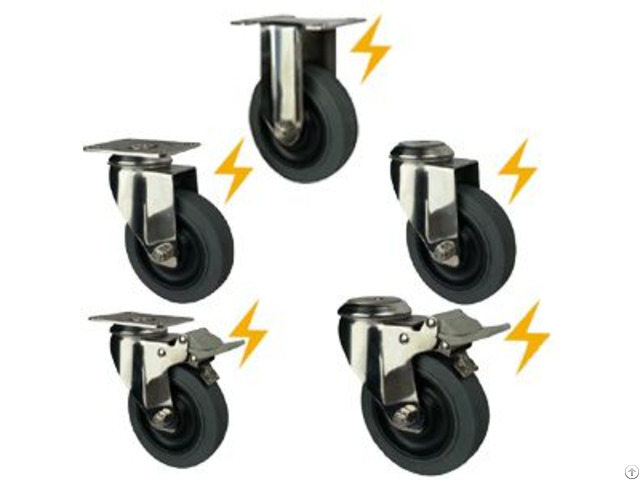 Antistatic Caster Wheels