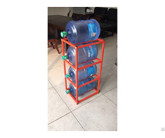 Household 5 Gallon Water Bottle Racks 4 Shelves