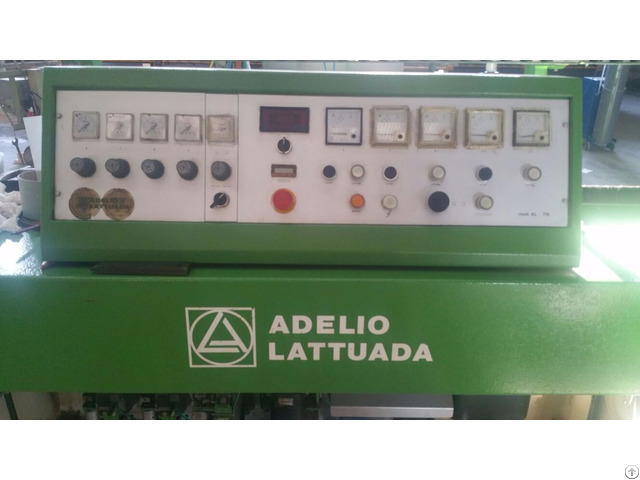 Straight Line Edging Machine Lattuada Al 8 Tn