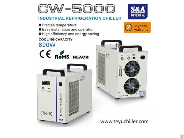 S And A Industrial Chiller For Induction Heater