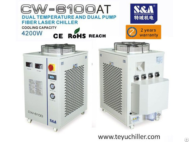 S And A Water Chiller For 500w Cnc Fiber Laser Cutter