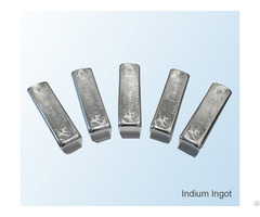 Good Price For 99 995% Indium Ingot Metal China