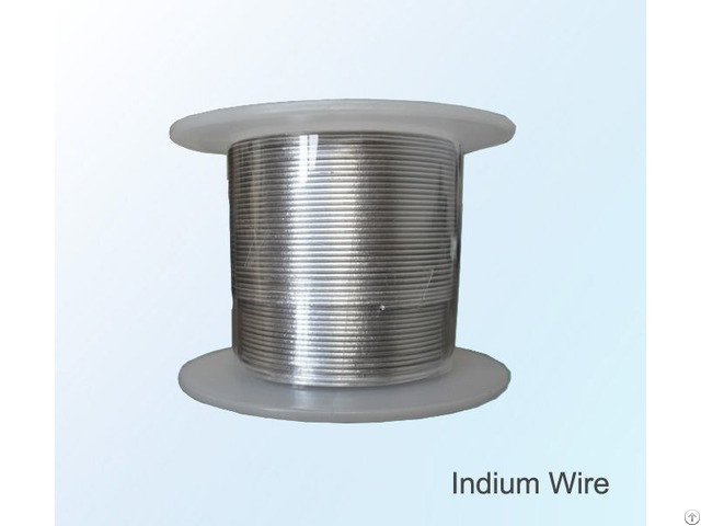 Factory Price Indium Wire High Purity 99 995% 4n5 For Sale