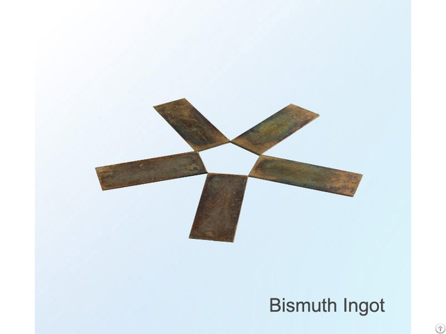 Low Price Bismuth Ingot Metal High Purity 4n China