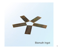 Low Price Bismuth Ingot Metal High Purity 4n China