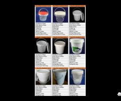 Round Plastic Bucket