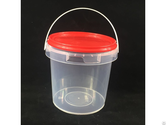 Food Grade 1l Round Plastic Bucket