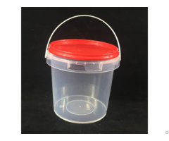 Food Grade 1l Round Plastic Bucket