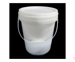 Wholesale 20l White Color Round Shape Plastic Bucket From China