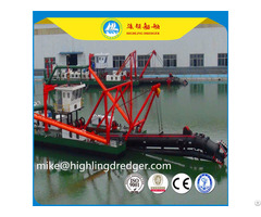 Small 8 Inch Hydraulic Cutter Suction Dredger For Sale