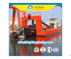 Highling Hl500d 20 Inch 4000m³ H Dual Pump Dredger Ship For India Market With Good Solid Capacity