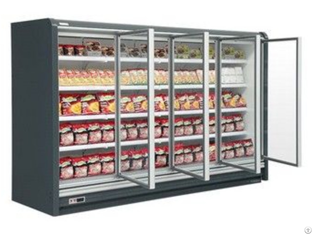 Multideck Cabinet With Vertical Glass Door 18