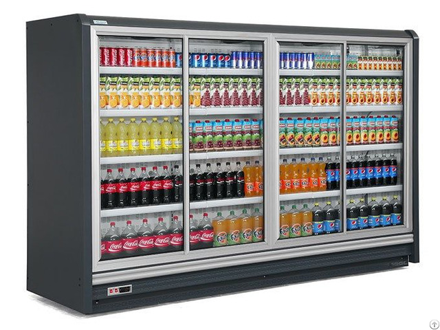 Dairy Refrigerated Showcase With Sliding Door