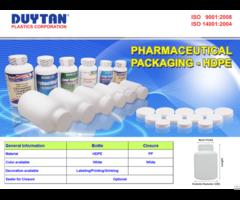Liquid Medicine Bottle With Measuring Cup Duy Tan Plastics