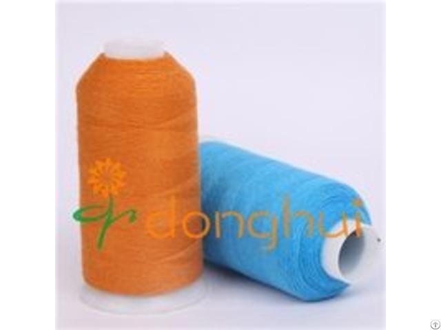 Mercerized Wool And Nylon Spinning Blended Yarn
