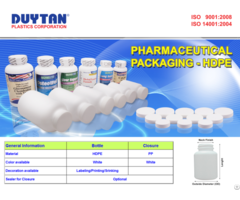Liquid Medicine Bottle With Measuring Cup 200cc Duy Tan Plastics