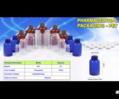 Liquid Medicine Bottle With Measuring Cup 53mm Duy Tan Plastics