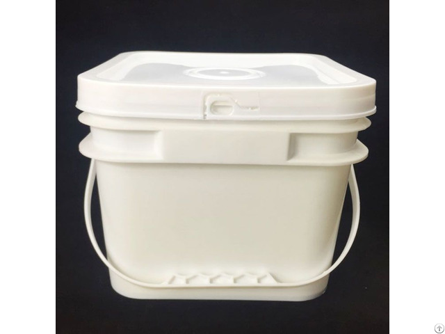 Food Grade 8l Square Plastic Bucket From China
