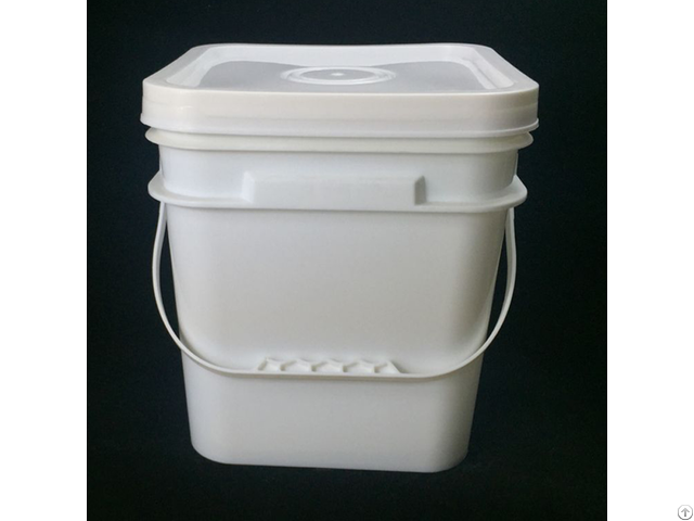 Food Grade 10l Plastic Square Bucket From China