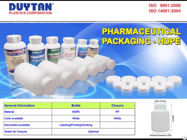 Biodegradable Medicine Bottle 45mm Duy Tan Plastics