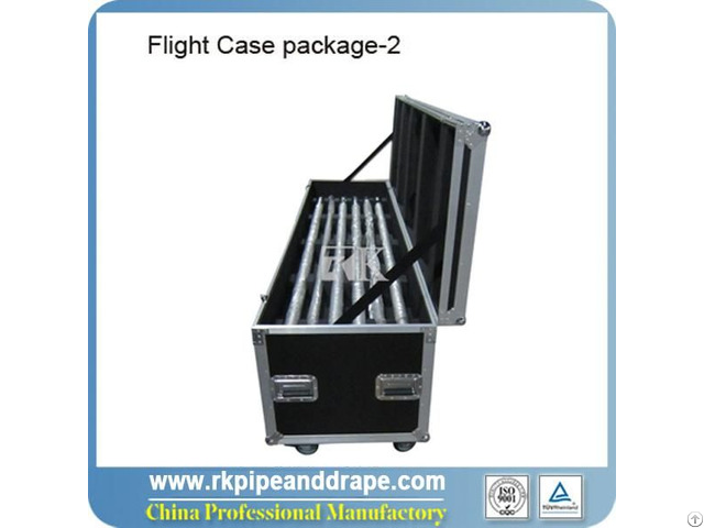 Flight Case For 14pcs Uprights And Cross Bars