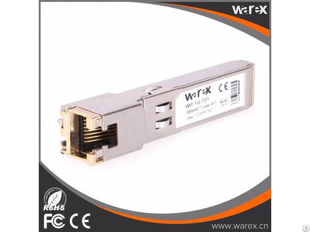 Glc T Compatible Sfp Copper Transceiver Rj 45 Connector