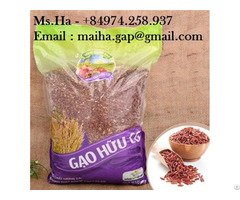 Organic Red Brown Rice From Vietnam With High Quality