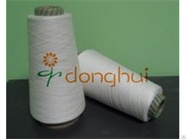 Bulk Production Blended Acrylic White Yarn For Knitting And Weaving