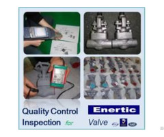 China Valve Pipe Fitting Dump Preshipment Inspection Quality Control Service