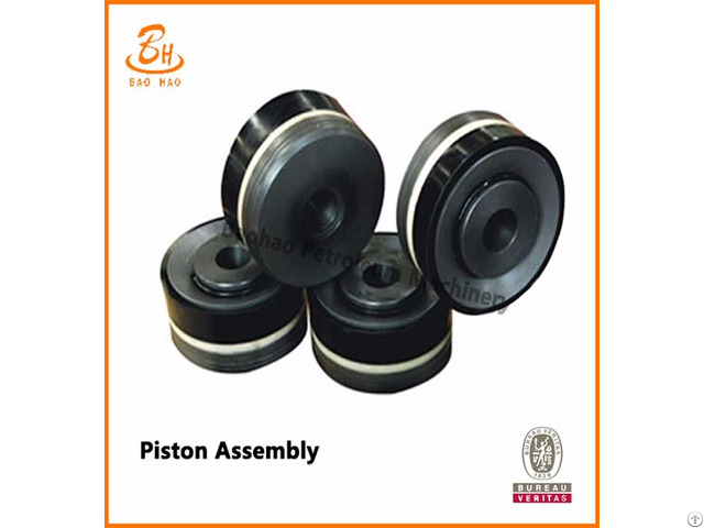 Spare Parts Of Mud Pump Latest High Quality Piston Assembly