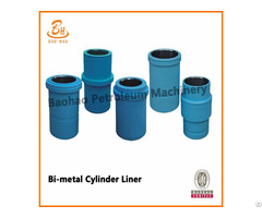 Iso Bimetal Cylinder Sleeve For Oil Field Mud Pump Parts