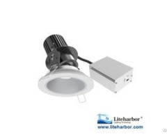 Four Inch Remodel Adjustable Led Recessed Downlight
