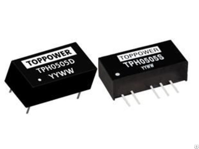 Tph0505s 2w Isolated Single And Dual Output Dcdc Converters