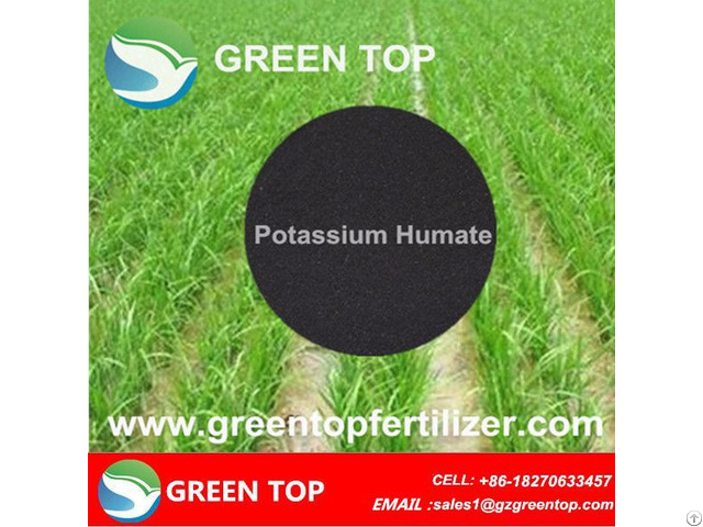 Humic Acid Powder Potassium Humate Agricultural Fertilizer