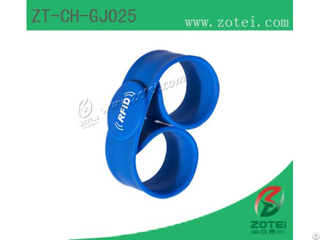 Clap Silicone Wristband Tag