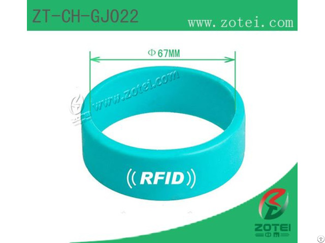 Circle Rfid Wristband Tags