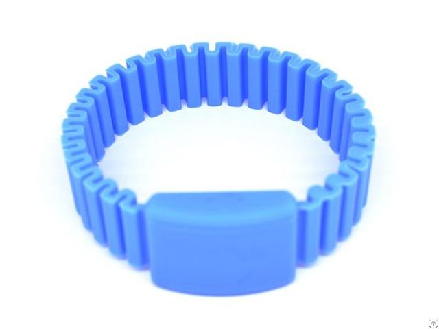 Rfid Elastic Silicone Wristband