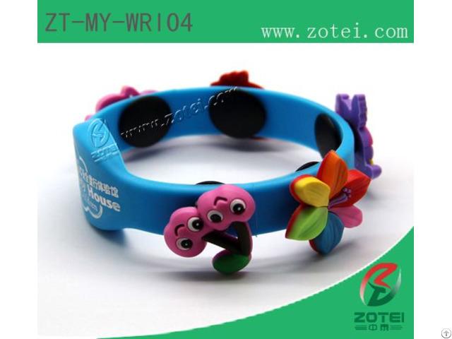 Rfid Oval Silicone Wristband Tags