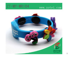 Rfid Oval Silicone Wristband Tags
