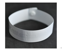 Rfid One Time Pp Paper Wristband Tag