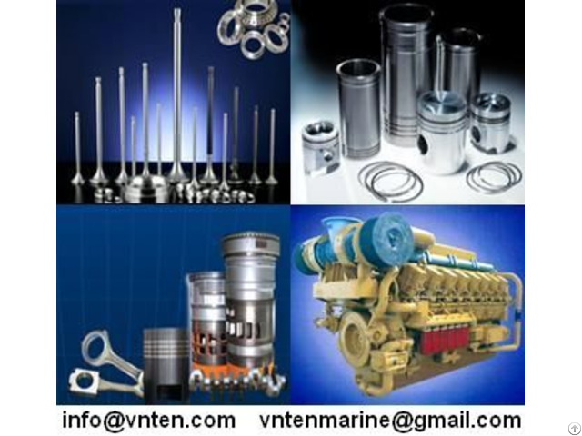 Marine Engine Parts  Yanmar Daihatsu Mitsubishi Man B And W Sulzer Pielstick