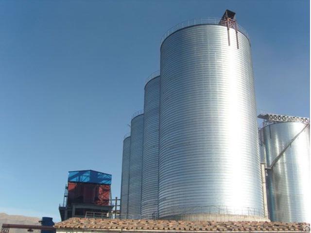 Storage Silo For Calcined Petroleum Coke