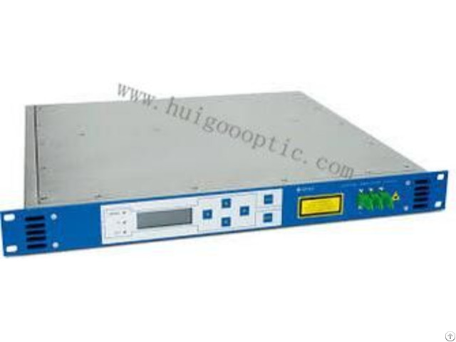 Fttx Pon 1550nm 26 A Catv Edfa Solution Pump Erbium Doped Fiber Optical Audio Amplifier Fc Apc