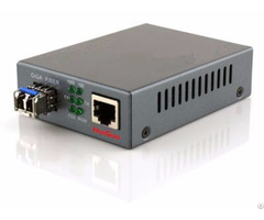 Gigabit Fiber Media Converter 1000base Lx Lc Multimode